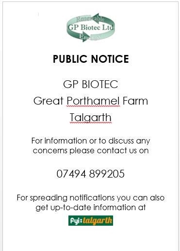 GP Biotec - Contact Information
