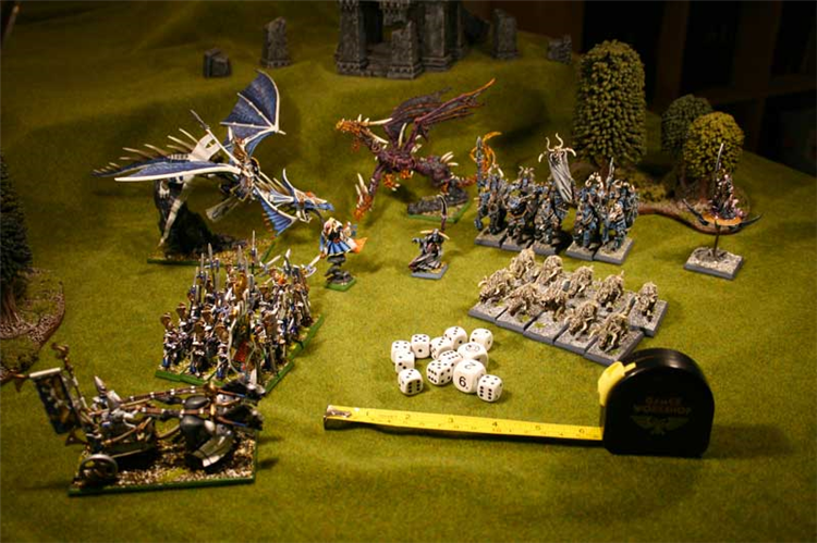 HobbyGames - Brecon Wargames Club - Warhammer 40k, Flames of War