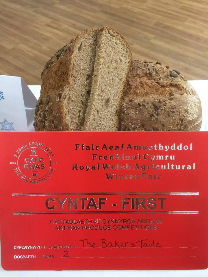 THE BAKERS' TABLE AT TALGARTH MILL SCOOPS MORE BREAD AWARDS